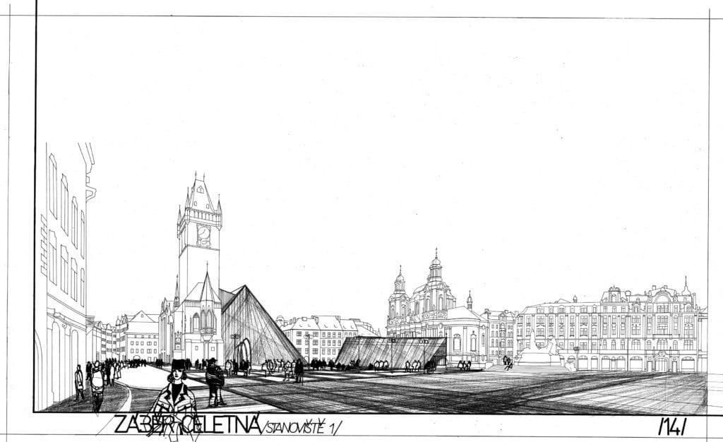 staroměstská radnice 1988 5-celetná